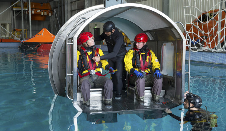 BOSIET with CA EBS - Basic Offshore Safety Induction and