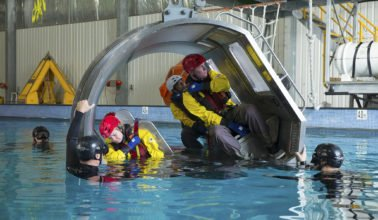 HUET – Helicopter Underwater Escape Training