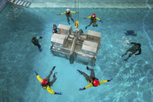 HUET module aerial
