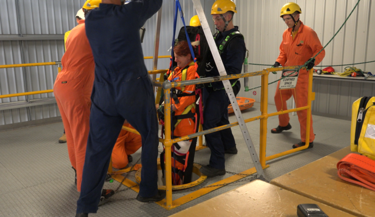 Performing Confined Space Rescue