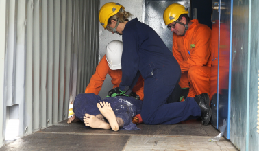 Low voltage rescue and CPR Skills maintenance
